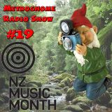 Metrognome Radio Show - # 19 - 31th May 2018 - New Zealand Music Month