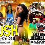 DJ ROY X BASS ODESSEY X ILLUSION SOUND @LUSH 27/4/18 [LIVE AUDIO]