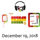 """Reggae Transfusion"" on KGNU Community Radio [12-19-2018]"