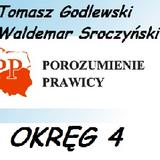 """KWW """"POROZUMIENIE  PRAWICY"""" - Okręg 4"""