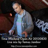 Tamas Jambor Live @ Time Machine Open Air 20130830