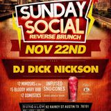 Dick Nickson and Deejay Feeniks Live From Bungalow Sunday Social 11-22-15