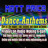 Dance Anthems with Matt Price on Radio Woking, 12th January 2018
