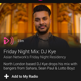 Friday Night Residency Mix - BBC Asian Network - AJD