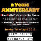 Alex Finkin exlusive mix for Ritmo Radio's Birthday