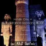 XABI ONLY - GLOBAL TRANCE SESSIONS #056 (INC. A & Z GUESTMIX) [14-11-2012]