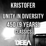 Kristofer - Unity in Diversity 450 (classics) @ Radio DEEA (26-08-2017)