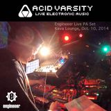 Acid Varsity LIVE PA October 10, 2014