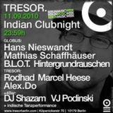 Marcel Heese @ Indian Clubnight - Tresor Berlin - 11.09.2010