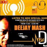 DJ Mash Live @ Pumping Beats on Radio Hits 88.2 (26-11-2013)