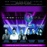 Cedric Gervais - Live at Experience NYE Pier36 (New York) – 31.12.2013