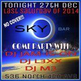 SkyBar Set 12/27/14