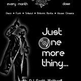 Just One More Thing (Scott Wetherill DJ Set @ Voodoo Cafe, Darlington, 3rd Nov 2017)