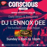 DJ Lennoxdee Live on Conscious sounds radio 20th Nov 16