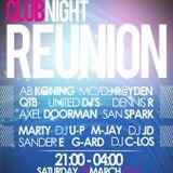 Clubnight Reunion 28-03-2015 Promo M-Jay