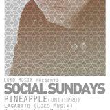 Pineapple Live @ Bar Code Brownsville Tx November 15 2015