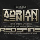 Adrian Zenith Hybrid Groove 005 Live on Redefine Online Radio
