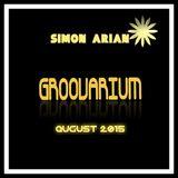 SIMON ARIAN - GROOVARIUM AUGUST 2015