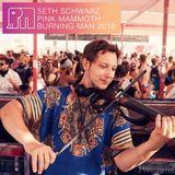 Seth Schwarz - Pink Mammoth - Burning Man 2018