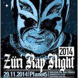Züri Rap Night 2014