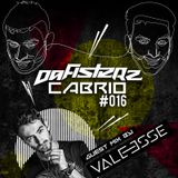 DAFISTERZ - CABRIO #016 (GUEST MIX BY VALEESSE from m2o)