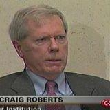 Dr. Paul Craig Roberts former Reagan Administration economics policy adviser