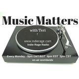 Music Matters 41(1/2) on Indie Rage Radio