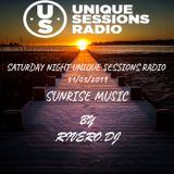 SATURDAY NIGHT UNIQUE SESSIONS RADIO 31-03-2019  SUNRISE MUSIC