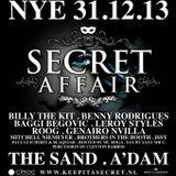 Secret Affair NYE mixtape 2013 mixed by Paul Guicherit
