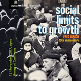 Social Limits to Growth, 40th anniversary—Evening Debate at the House of Commons, 13 Nov 2017