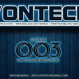 Podcast 003 mixed by Vontech ( Exclusive Tech-House Session 2013 )
