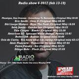 Radio show 6-2017 (Feb.13/19)
