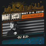 DJ ALA - Exclusive mix for West Coast Weekender 2018