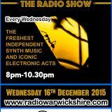 RW054 THE JOHNNY NORMAL RADIO SHOW - 16TH DECEMBER 2015 - RADIO WARWICKSHIRE