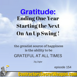 Gratitude  Ending One Year and Starting the Next On An Upswing 154