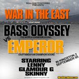 BASS ODYSSEY VS EMPORER IN EAST KINGSTON.SEPTEMBER 95