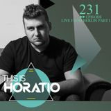 THIS IS HORATIO 231 live from Berlin
