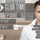 Club Time. Episode - 155 (Dimitriy Beast, guest - K.S.Y.)
