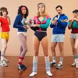 """""""Retro Fit"""" Pre-Pride workout at Fit Studio Oct 10, 2014"""