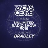 Unlimited Radio Show #016 [Guestmix by Bradley]