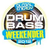 Dj Chazza (C.O.D.E|Red) Global Energy DnB Weekender 2012 Warm Up Mix