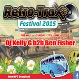 DJ Kelly G B2B DJ Ben Fisher @ RETROTRAX FESTIVAL @ Uttoxeter Racecourse - 7th June 2015