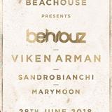 sandrobianchi live @beachhouse-ibiza 28.06.2018