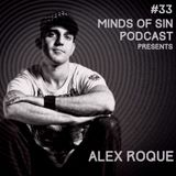 ALEX ROQUE @ TECHNO.FM -  Minds of Sin Podcast by Joe Mesmar