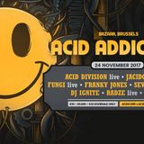 Stefan ZMK @ Acid Addiction Goes Brussels 2017 [ acid | acidtechno | acidcore | acidtekno ]