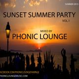 Sunset Summer Party - Mixed by Phonic Lounge * Summer2013