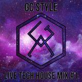 LIVE Tech House Mix session #1