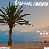 MYHOUSE – 2014 10 – DJ STEFANO MUNARI