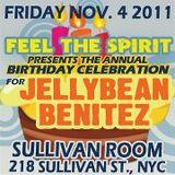 FEEL THE SPIRIT November 4, 2011 Jellybean Benitez Live