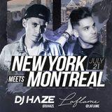 Dj Haze DJ Laflame - New York Meets Montreal